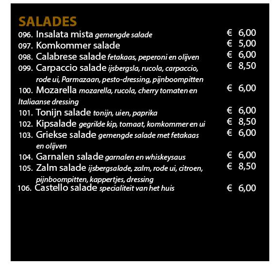 Menukaart 2019 Website Salades en Pasta 1
